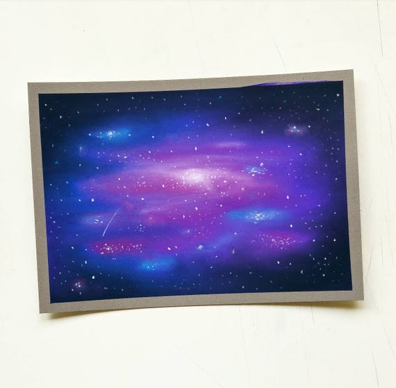 Flamin Darwin: 10+ Best For Galaxy Night Sky Oil Pastel