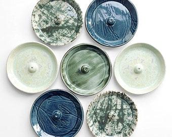 incense holder, handmade, ceramic, stoneware, clay, glazed