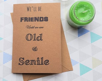 Funny birthday card, Funny best friends, Card for best friend, Best friend card, Best friend birthday, Card for friend, Bff card, Cute Card