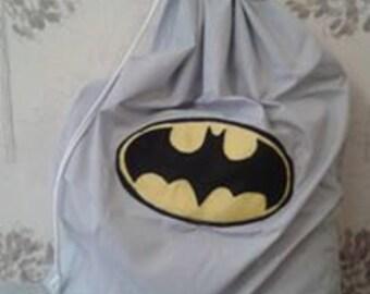 batman logo christmas sack