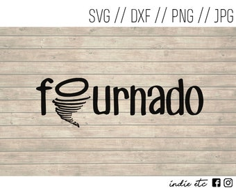 Fournado Digital Art File (svg, dxf, png, jpeg)
