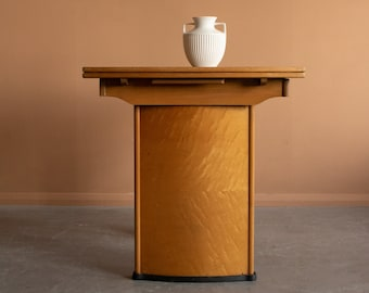 Vintage Art Deco Burr dining table