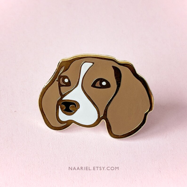 Dog Enamel Brooch Pin Animal Badge Mental Pin Clip Accessories Cute Jewelry new.