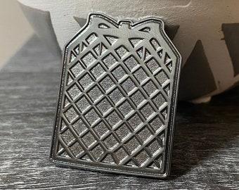 Grid Fin Hard Enamel Pin