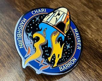 NASA Crew-3 USCV-3 Mission Patch Hard Enamel Pin