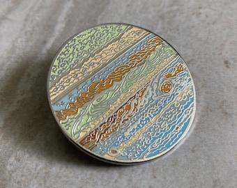 Jupiter Hard Enamel Pin
