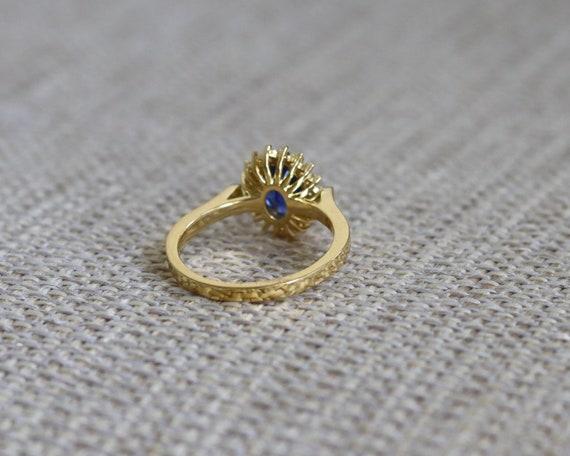 ceylon oval engagement ring princess diana blue sapphire ring etsy ceylon oval engagement ring princess diana blue sapphire ring handcraft with 22k yellow gold kate middleton ring natural diamond ring