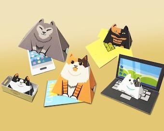 Pixel Art Paper toy store  by ToppyNoppy on Etsy
