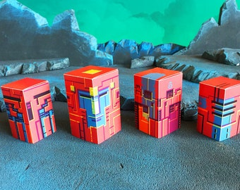 5ad779c3d0ae9 Cyberskull Matroska paper robot heads