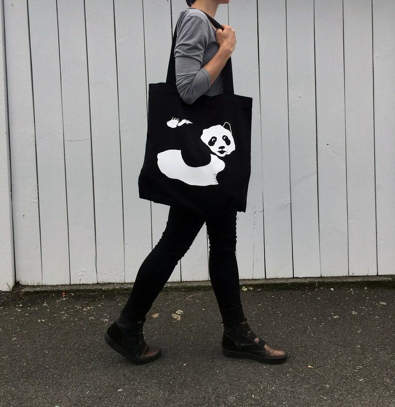 c50b69996a7c Panda Bag | Etsy