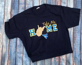 1dbc4447d Take me home, West Virginia, WVU, Mountaineers shirt