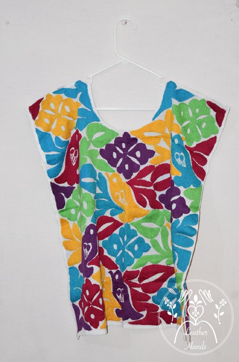 45c7918430c79 Huipil oiseaux Oaxaca chemisier blouse brodée blouse