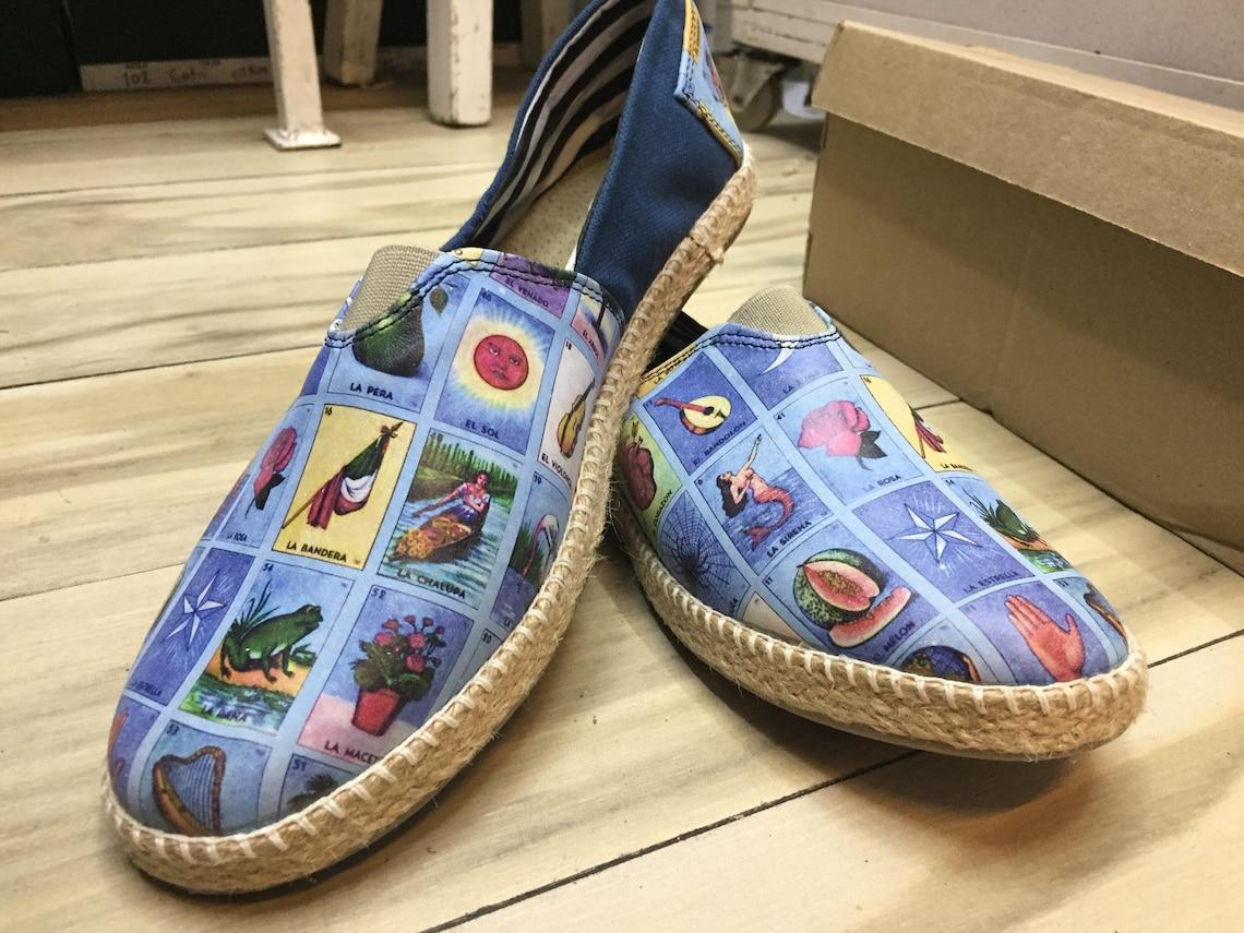 Alpargatas De Mujer Loteria Mexicana Zapatos - Big Sale FABXx