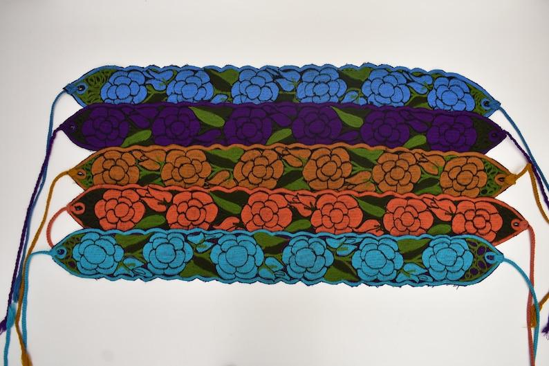 woven sash belt mexican sash belt cinturon de flores mexican band cintur\u00f3n bordado correa boho, woven sash flowers belt