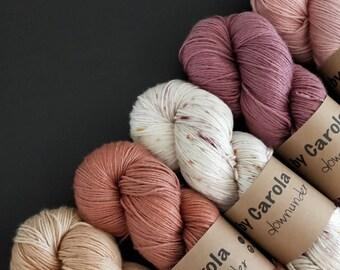 75/25 SW Merino-Silk 4, Botanical Dyed
