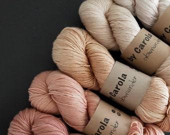 75/25 SW Merino-Silk 3, Botanical Dyed