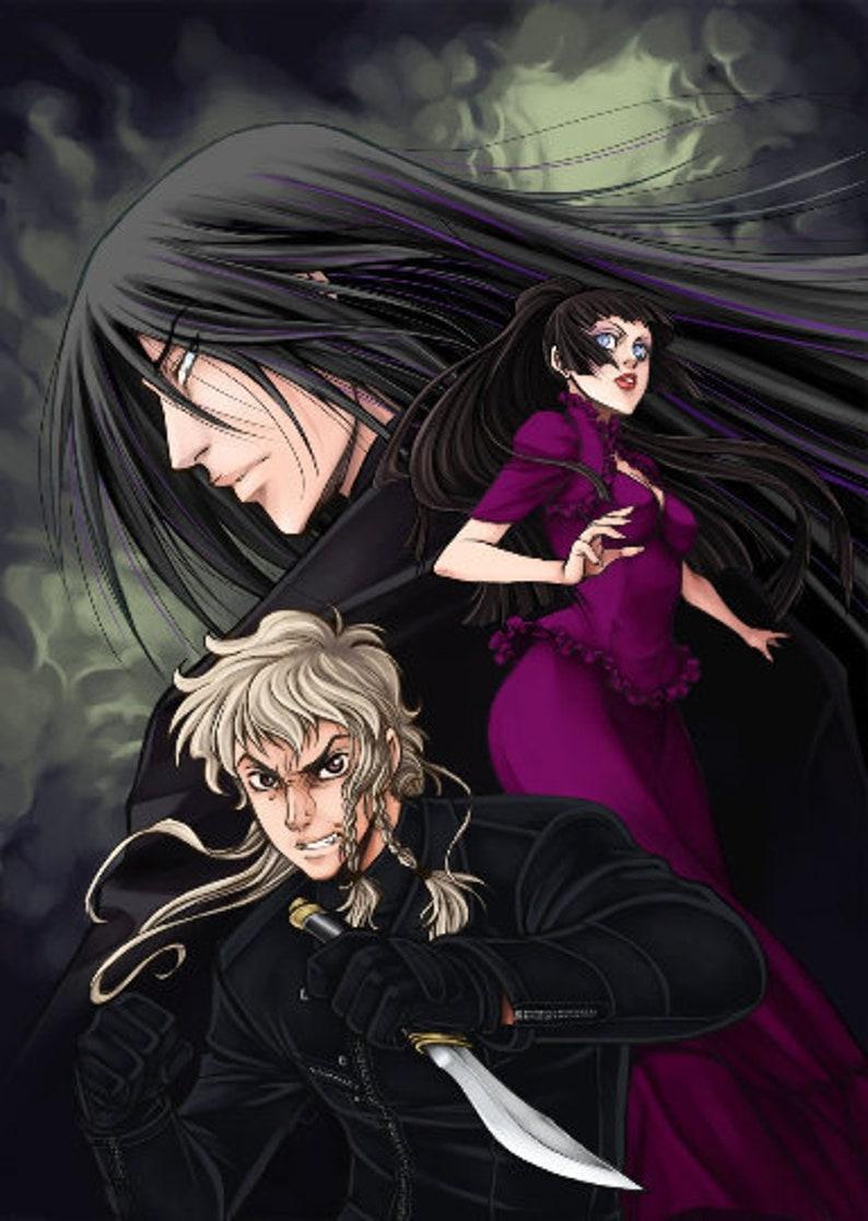 Dark-Hunters® Signed Manga Book Set All 4 Volumes image 0