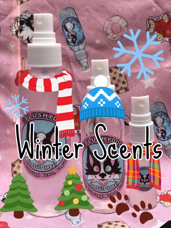 WINTER/CHRISTMAS Scented Fursuit Cleaning (washing) Spray