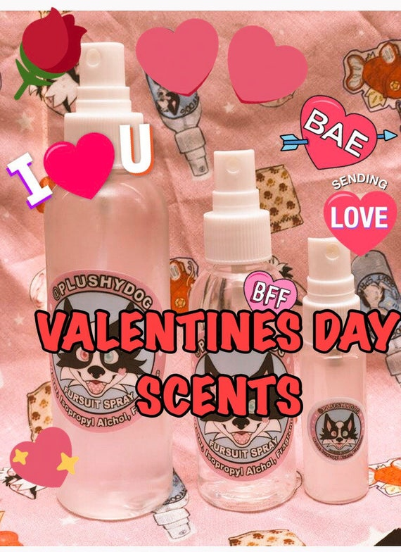 VALENTINES Scented Fursuit Cleaning (washing) Spray