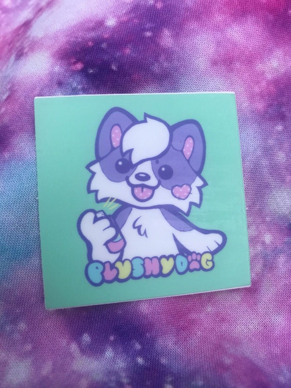 Offical Plushydog Sticker
