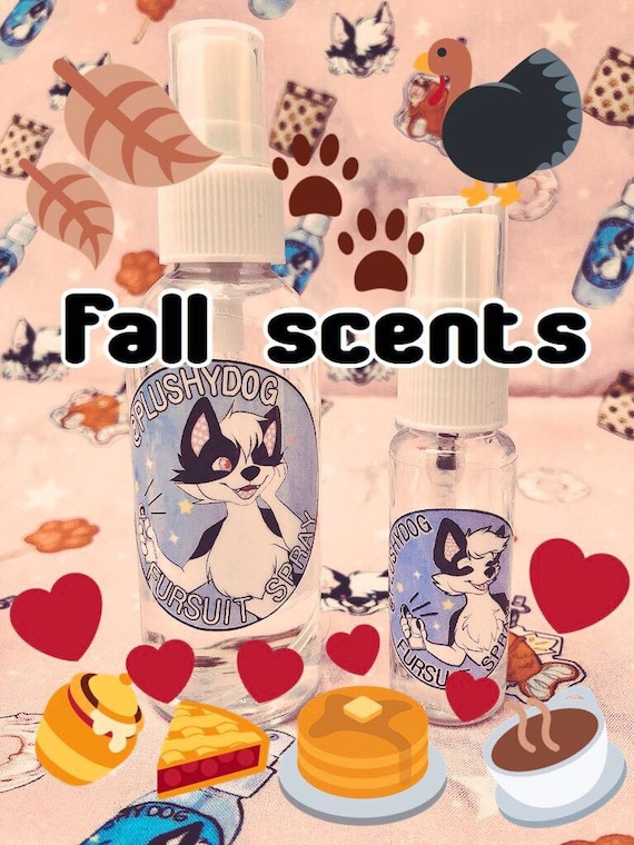 FALL/AUTUMN Scented Fursuit Cleaning (washing) Spray
