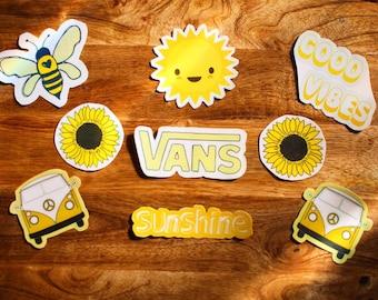 7292111e804 Yellow aesthetic stickers