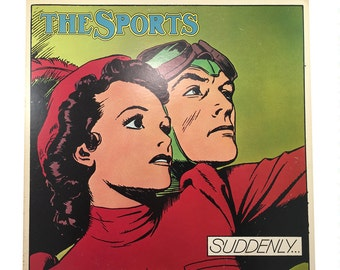 The Sports - Suddenly Lp Record, 1978 Vintage Vinyl Record Album, 70s rock record, new wave