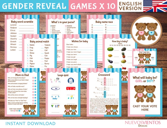 graphic about Printable Gender Reveal Games known as Teddy undertake gender demonstrate video games printable. Instantaneous obtain