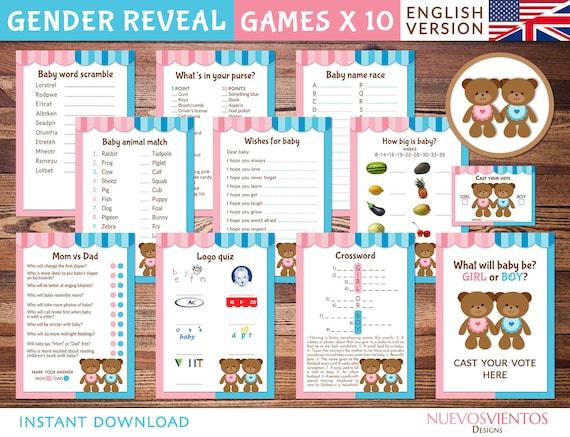 image about Logo Quiz Printable named Teddy endure gender explain online games printable. Quick obtain