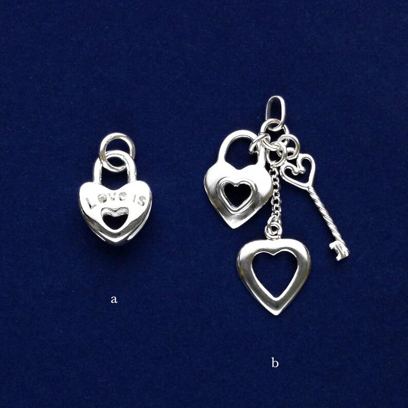 Sterling Silver Polished Key Pendant