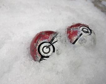 Pokeball réplique - bataille endommagé
