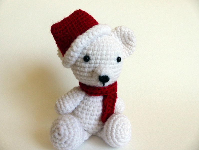 PATTERN: Christmas teddy bear – Kristi Tullus | 596x794