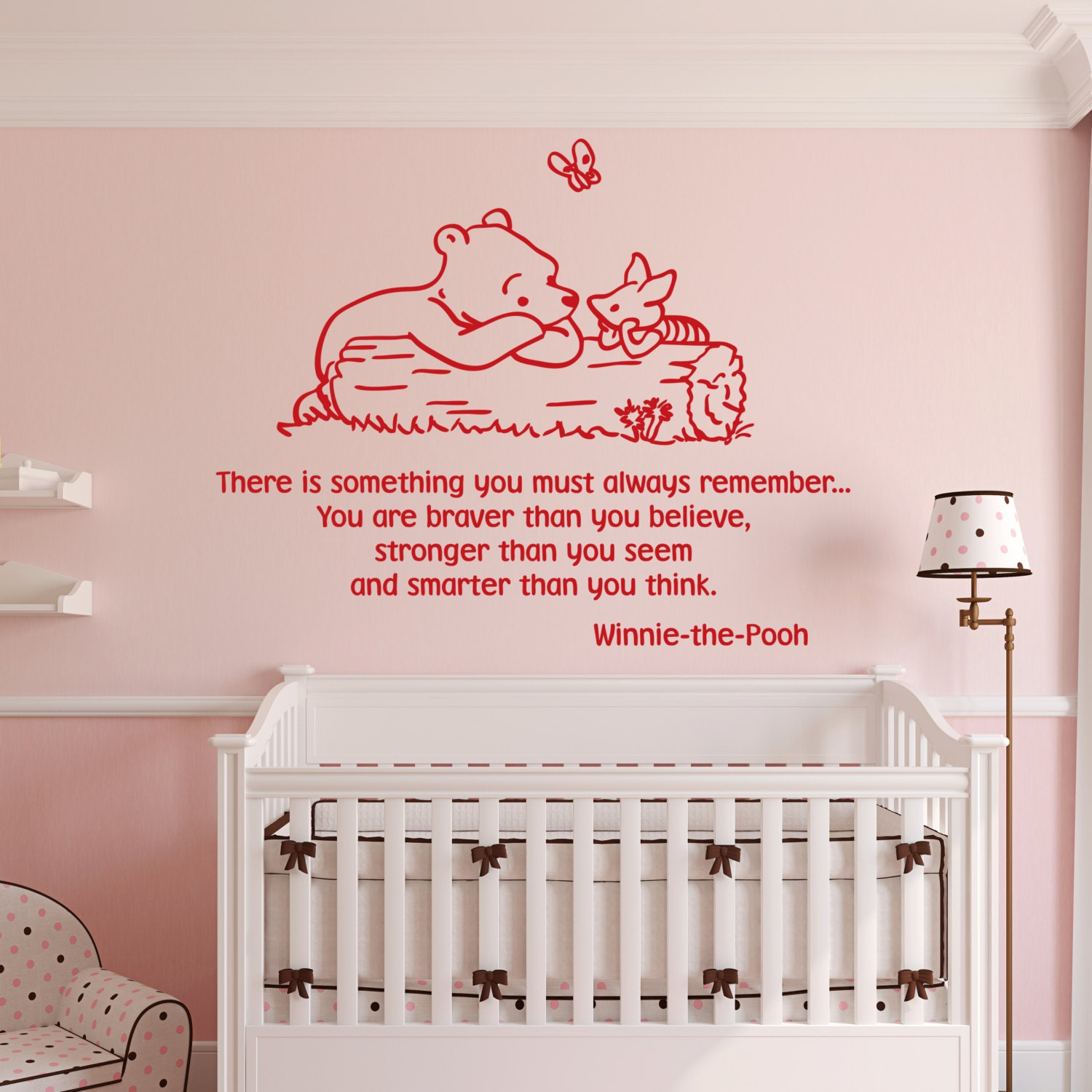 Winnie The Pooh Wall Decals Classic There Is Something You