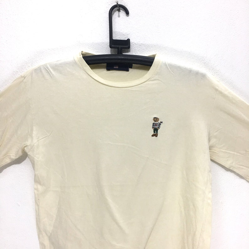 081ea8246 Vintage POLO BEAR Ralph Lauren Long Sleeve Tee Shirt Sport USA | Etsy