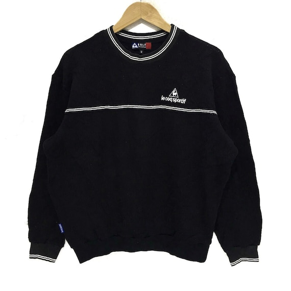2f90b19f0a6 Vintage LE COQ SPORTIF Golf Collection Crewneck Spell Out Logo