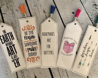 Bookmark, Book Mark, decorative bookmark, cute bookmark, personalized bookmark, custom bookmark, cute gift, custom gift