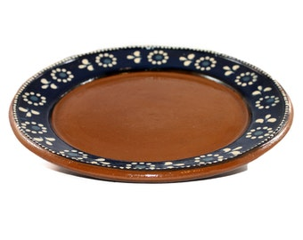 Mexican Red Clay Plate