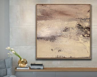 Contemporary canvas Original Large Painting Art Abstract On Canvas Large Square Acrylic Painting On Canvas Abstract Painting Acrilic decor