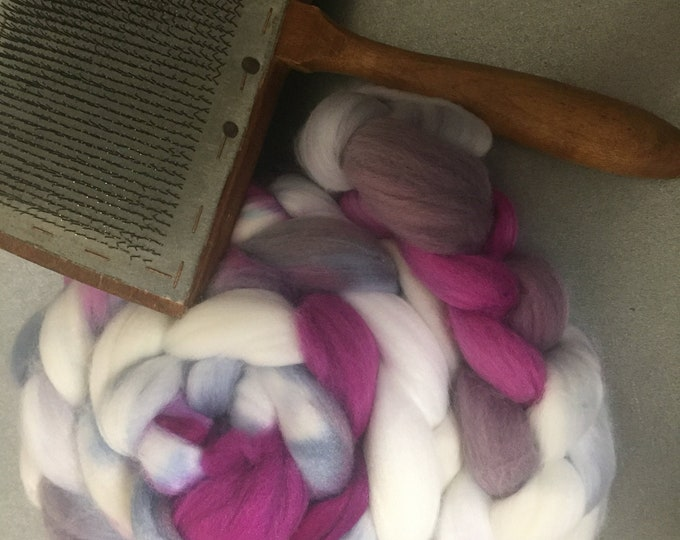 Summer Lovin' 4 oz Dyed Faux Cashmere Combed Top