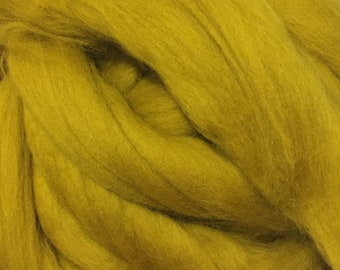 Leaf - Commercially Dyed Merino Wool Top - Clearance!
