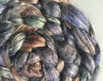 Shaken Not Stirred 4 oz Alpaca/Silk Combed Top