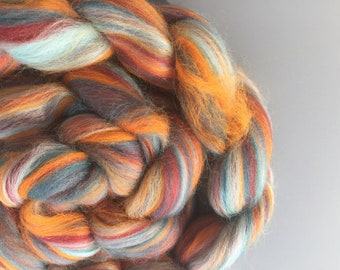 Autumn Snow 4 oz Merino Combed Top
