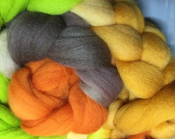 Tigerlily hand Falkland combed top