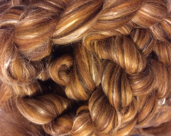 Jockeys Ridge - Multi Colored Merino Silk Combed Top