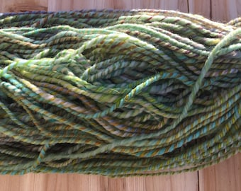 Forest Friends Bukly Yarn - 3 ply 132 yards 4.5 oz made from hand dyed wool