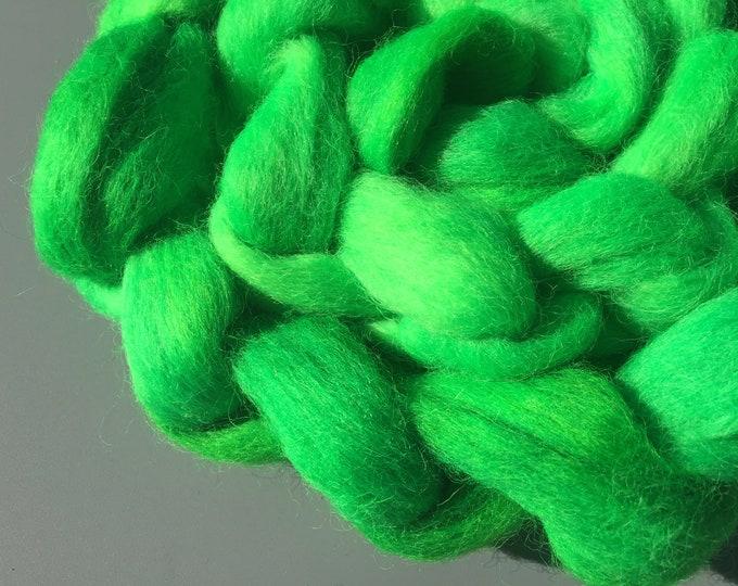 Holly 4 oz Australian Cross Wool Combed Top