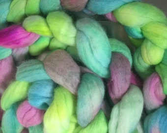 Lollipops 4 oz Merino and Cashmere Combed Top Spinning Fiber