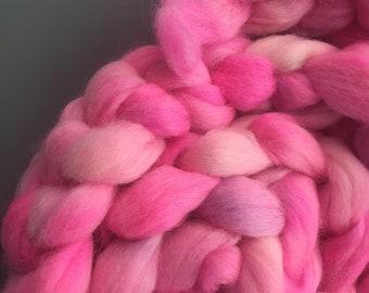 Blinding Pink 4 oz Australian Cross Combed Top