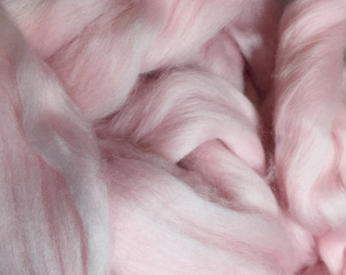 Cotton Candy Merino Combed Top by the ounce