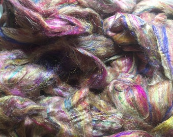 Christmas Cookies Sari Silk Combed Top by the ounce